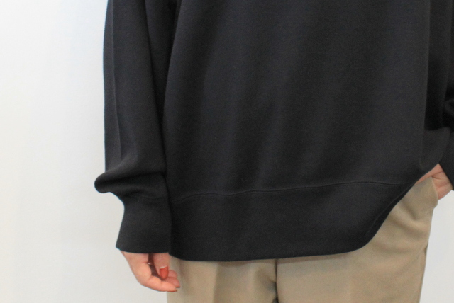 LENO&Co.(リノアンドコー) 【20AW】MOCK NECK LONG T-SHIRT_H2002CS002【K】(5)