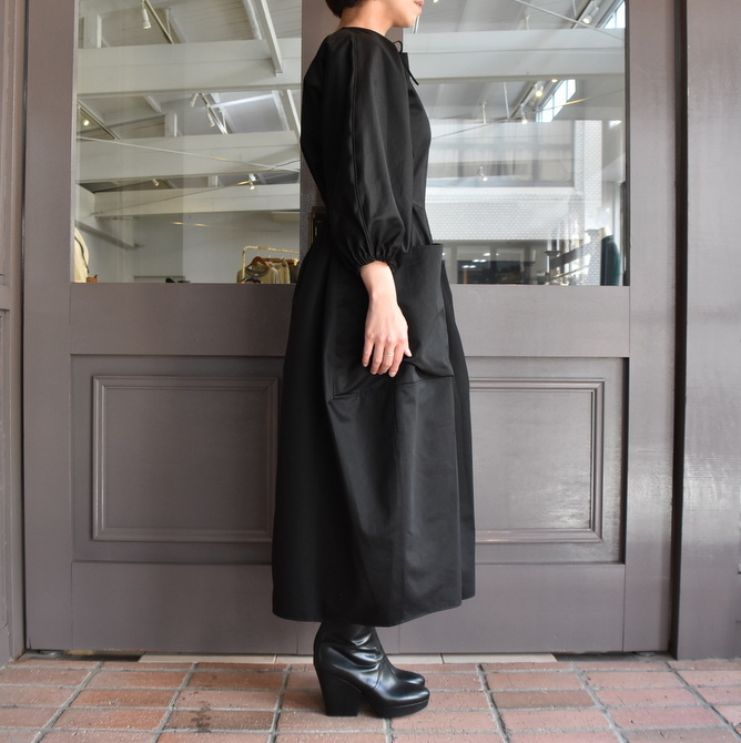TENNE HANDCRAFTED MODERN(テン ハンドクラフテッドモダン) VOLUME SLEEVE DRESS #0014DR(5)