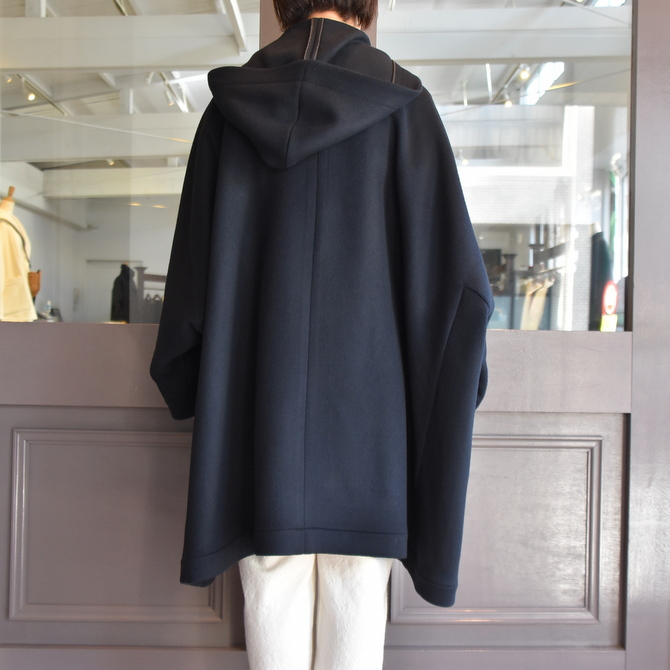 TENNE HANDCRAFTED MODERN(テン ハンドクラフテッドモダン) SUPER 180'S WOOL CAPE WITH HOOD #0020CT(5)