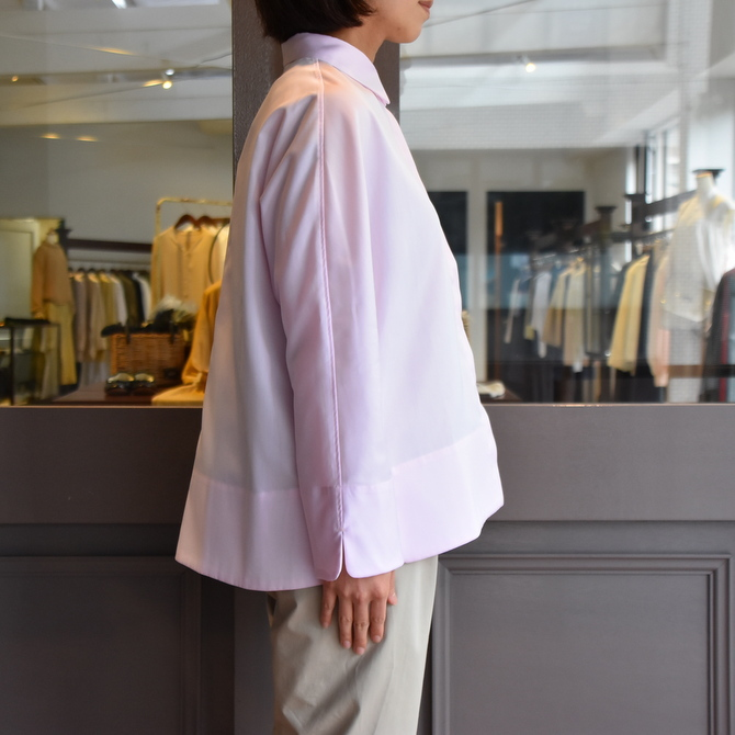 TENNE HANDCRAFTED MODERN(テン ハンドクラフテッドモダン) GUSSET SL SHIRT WITH COLLAR #0013-21SS(5)