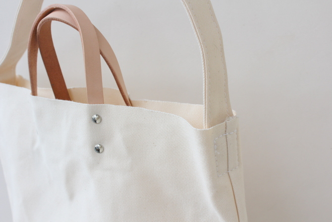 TEMBEA(テンベア)2WAY LOGO BAG(NATURAL)【K】(6)