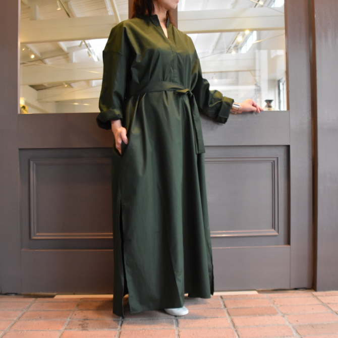 CristaSeya(クリスタセヤ)/ LIGHT COTTON CAFTAN #16M-C(6)