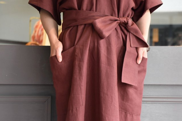 【30% off sale】YLÉVE(イレーヴ) 【2020】LINEN HIGH COUNT OP(2色展開) #168-0155057(6)