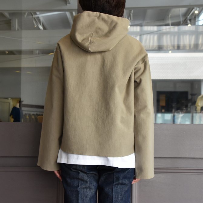 AURALEE(オーラリー) SUPER MILLED SWEAT CUT-OFF P/O PARKA #A20AP04SM(6)