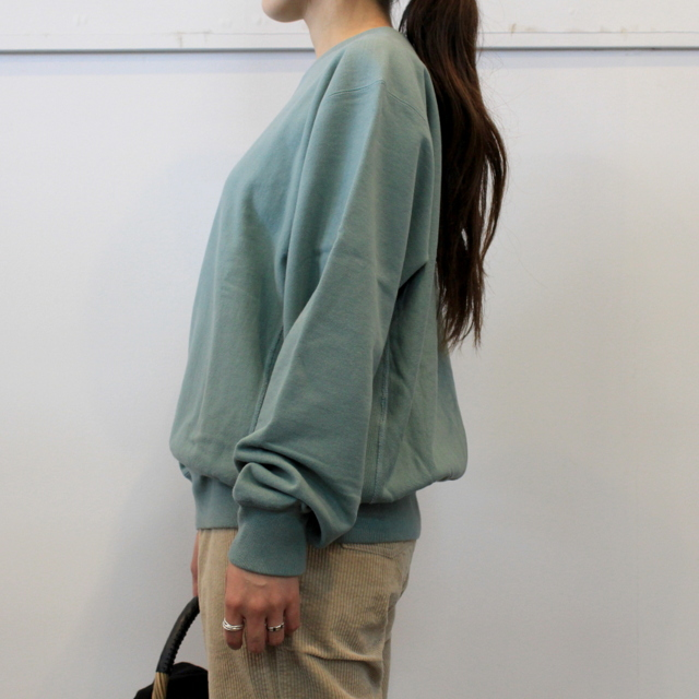 LENO&Co.(リノアンドコー) 【20AW】CREW NECK SWEAT SHIRT(3色展開)_H2002SW001【K】(6)
