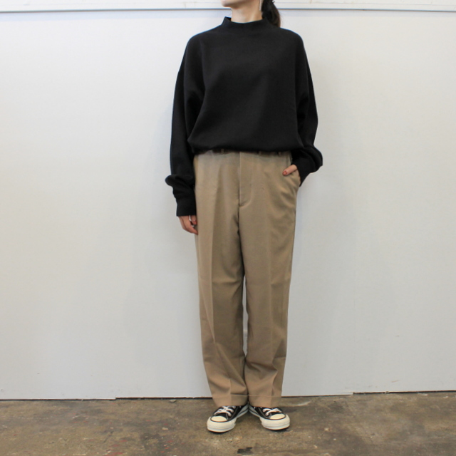 LENO&Co.(リノアンドコー) 【20AW】MOCK NECK LONG T-SHIRT_H2002CS002【K】(6)