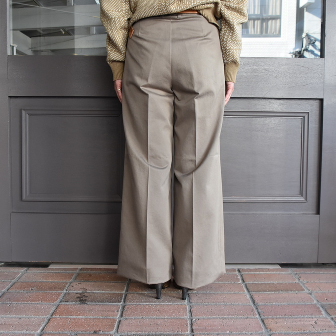 【40% off sale】AURALEE(オーラリー)  WASHED FINX CHINO WIDE TUCK PANT #A9AP02CN【Z】(7)