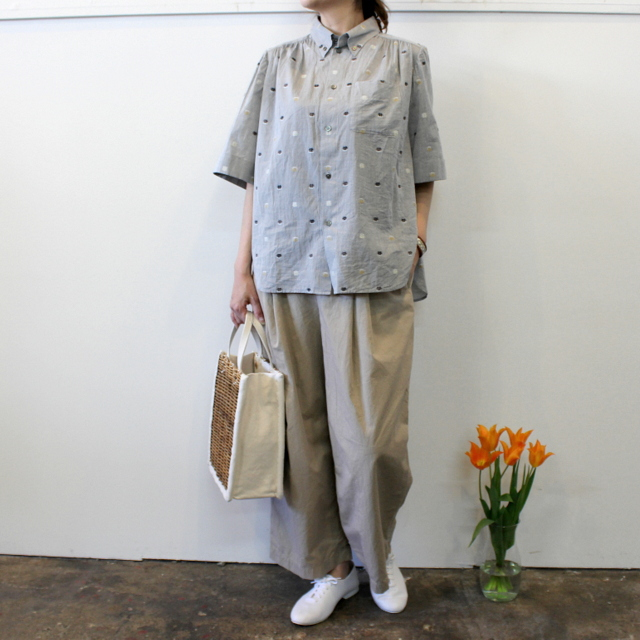 GASA*(ガサ) 【20SS】花ごろも short sleeve shirt_11201-15207【K】(7)