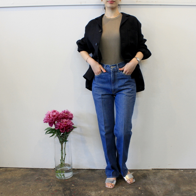 AURALEE(オーラリー) 【20SS】WASHED HARD TWIST DENIM 5P PANTS_A20SB10DM【K】(7)