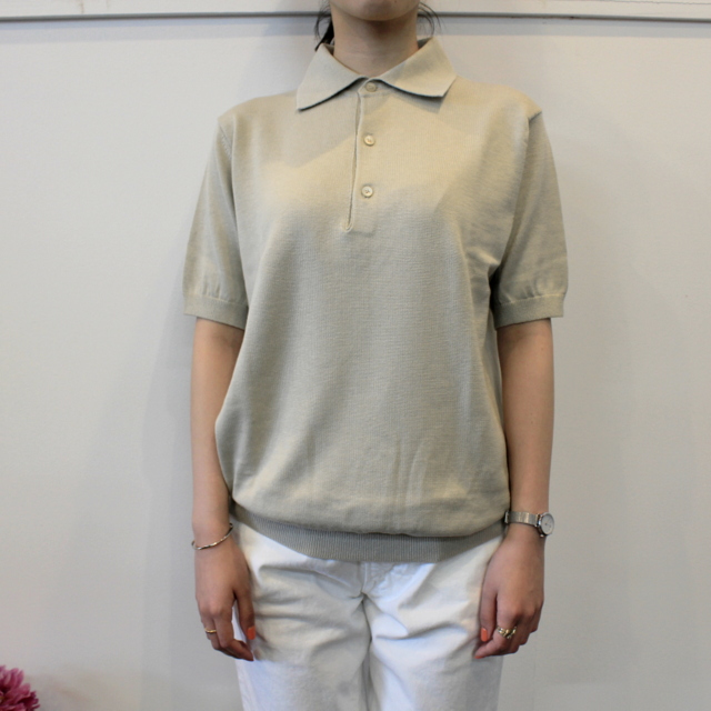LENO&Co.(リノアンドコー) 【20SS】COTTON SILK KNIT POLO(2色展開)_L2001K002【Z】(7)