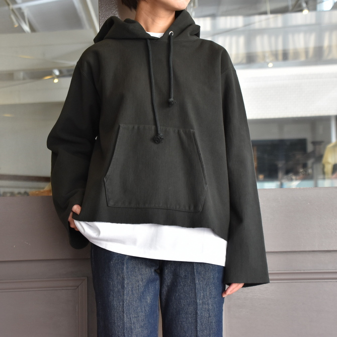 AURALEE(オーラリー) SUPER MILLED SWEAT CUT-OFF P/O PARKA #A20AP04SM(7)