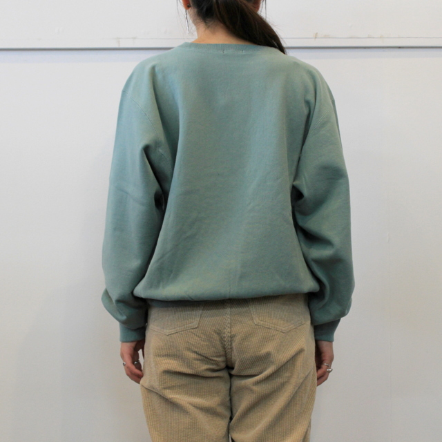 LENO&Co.(リノアンドコー) 【20AW】CREW NECK SWEAT SHIRT(3色展開)_H2002SW001【K】(7)