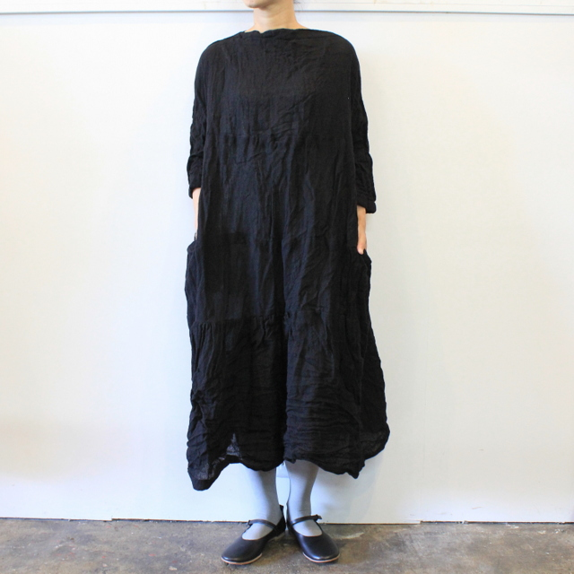DANIELA GREGIS(ダニエラ グレジス) SOFFIONEBAIZA DRESS no.1_A614AW-W196【K】(7)