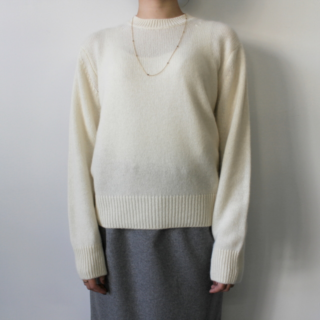 AURALEE(オーラリー)【20AW】BABY CASHMERE KNIT P/O(2色展開)_A20AP04BC【K】(7)
