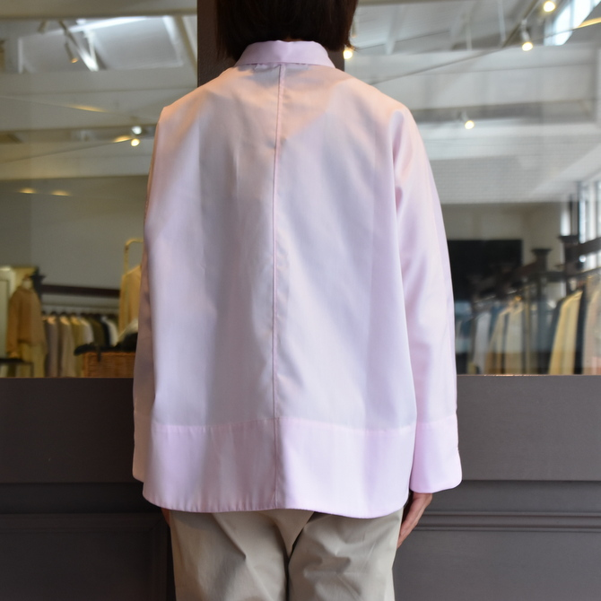 TENNE HANDCRAFTED MODERN(テン ハンドクラフテッドモダン) GUSSET SL SHIRT WITH COLLAR #0013-21SS(7)