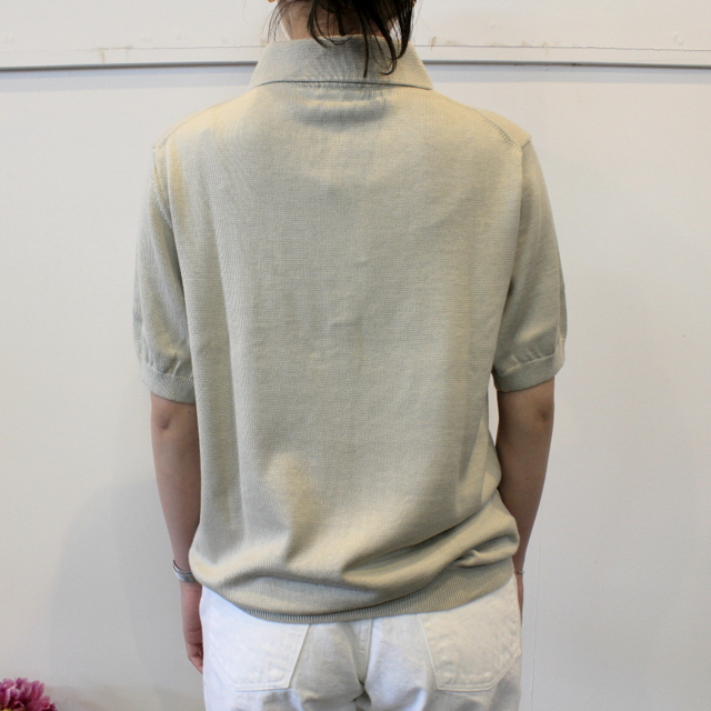 LENO&Co.(リノアンドコー) 【20SS】COTTON SILK KNIT POLO(2色展開)_L2001K002【Z】(8)