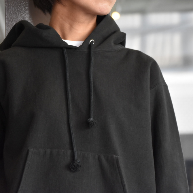 AURALEE(オーラリー) SUPER MILLED SWEAT CUT-OFF P/O PARKA #A20AP04SM(8)