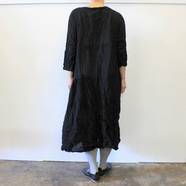 DANIELA GREGIS(ダニエラ グレジス) SOFFIONEBAIZA DRESS no.1_A614AW-W196【K】(8)