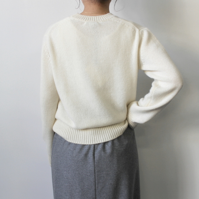 AURALEE(オーラリー)【20AW】BABY CASHMERE KNIT P/O(2色展開)_A20AP04BC【K】(8)
