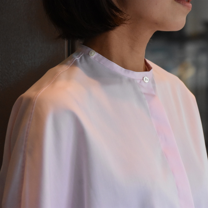 TENNE HANDCRAFTED MODERN(テン ハンドクラフテッドモダン) GUSSET SL SHIRT WITH COLLAR #0013-21SS(8)