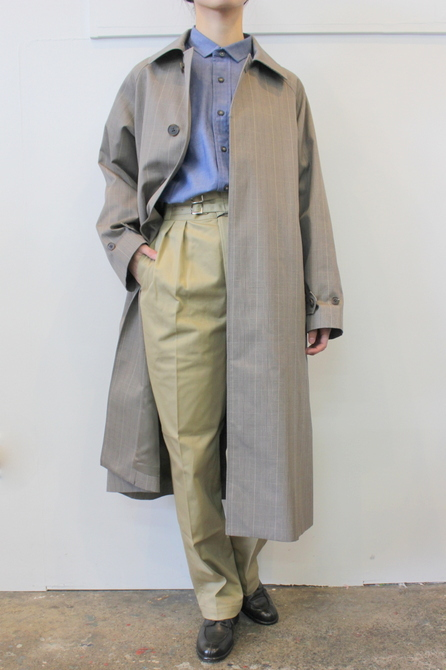 LENO&Co.(リノアンドコー) /【20SS】STAND FALL COLLAR COAT_L2001-CO001【K】(9)