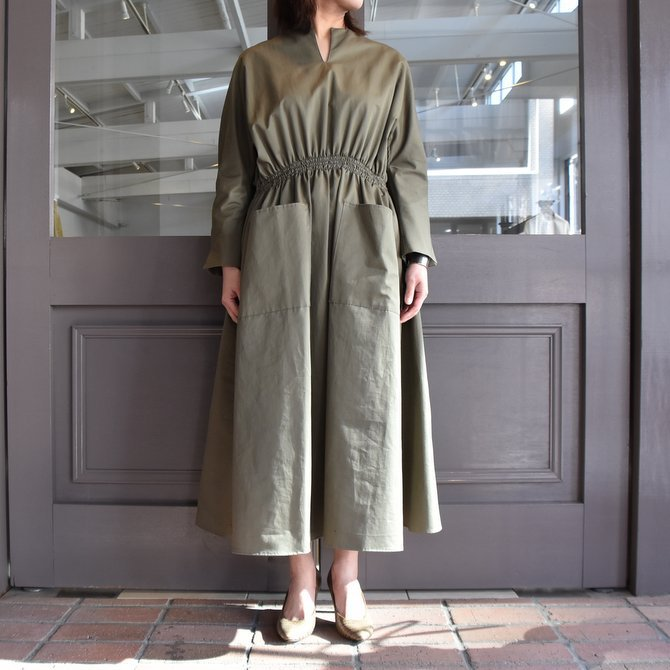TENNE HANDCRAFTED MODERN(テン ハンドクラフテッドモダン) WEIST SHARING PULL ONE-PIECE #0003(9)