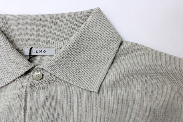 LENO&Co.(リノアンドコー) 【20SS】COTTON SILK KNIT POLO(2色展開)_L2001K002【Z】(9)