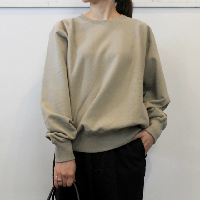 LENO&Co.(リノアンドコー) 【20AW】CREW NECK SWEAT SHIRT(3色展開)_H2002SW001【K】(9)