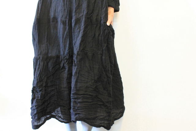 DANIELA GREGIS(ダニエラ グレジス) SOFFIONEBAIZA DRESS no.1_A614AW-W196【K】(9)