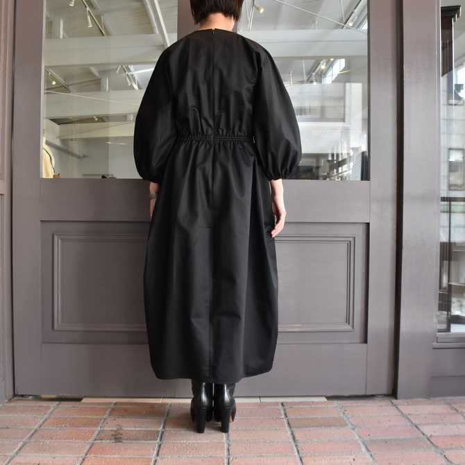 TENNE HANDCRAFTED MODERN(テン ハンドクラフテッドモダン) VOLUME SLEEVE DRESS #0014DR(9)