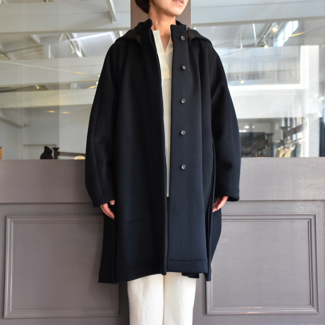 TENNE HANDCRAFTED MODERN(テン ハンドクラフテッドモダン) SUPER 180'S WOOL CAPE WITH HOOD #0020CT(9)