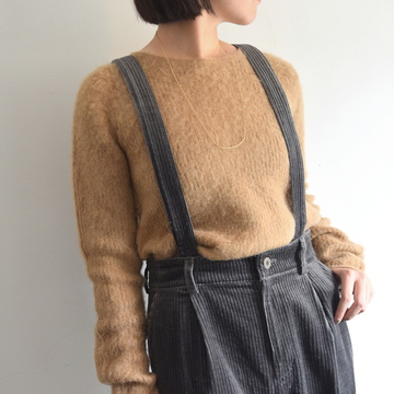 【40%OFF SALE】Bilitis dix-sept ans(ビリティス・ディセッタン)Baby Alpaca Pullover (2色展開)