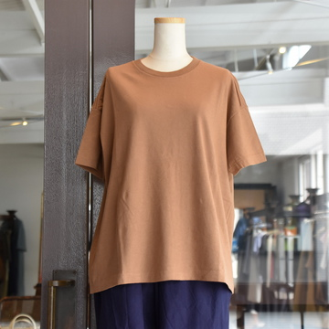AURALEE(オーラリー) SEAMLESS CREW NECK BIG TEE #A00T05ST(4色展開)