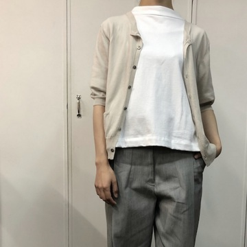 【30% off sale】humoresque(ユーモレスク) short sleeve cardigan(3色展開)【K】