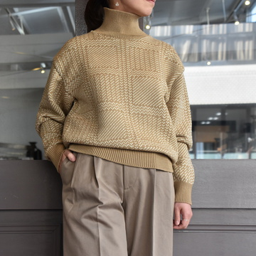【40% off sale】AURALEE(オーラリー) HARD TWIST MERINO JQ KINT(2色展開) #A9AP03FJ【Z】