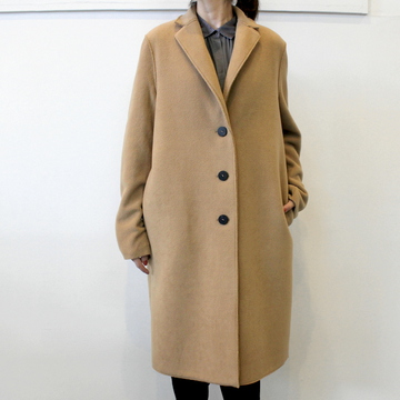 【30%OFF SALE】HARRIS WHARF LONDON(ハリスワーフロンドン) 【19AW】Women overcoat  polaire(2色展開)_A1331MHP【K】