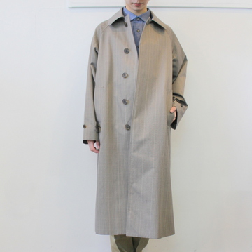 LENO&Co.(リノアンドコー) /【20SS】STAND FALL COLLAR COAT_L2001-CO001【K】
