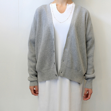 Graphpaper(グラフペーパー)【20 SS】High Density Cotton Knit Cardigan_GL201-80078【K】