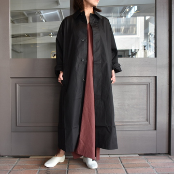 CristaSeya(クリスタセヤ)/ OVERSIZED LIGHT COTTON SUMMER TRANCH #01DA-C