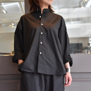 【30% off sale】CristaSeya(クリスタセヤ)/ LIGHT COTTON PYJAMA SHIRT #02DA-C