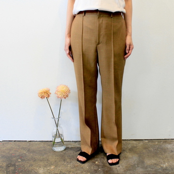 AURALEE(オーラリー) 【20SS】WOOL CUPRA LINEN CLOTH SLACKS_A20SP05CL【K】