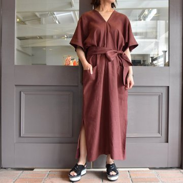 【30% off sale】YLÉVE(イレーヴ) 【2020】LINEN HIGH COUNT OP(2色展開) #168-0155057