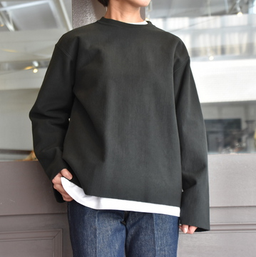 AURALEE(オーラリー) SUPER MILLED SWEAT CUT-OFF P/O #A20AP05SM