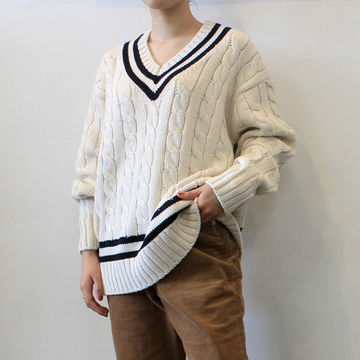LENO&Co.(リノアンドコー) 【20AW】TILDEN KNIT SWEATER(2色展開)_H2002K002【K】