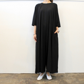 Graphpaper(グラフペーパー)【20 AW】Rib Flare Jumpsuit_GL203-60120B【K】