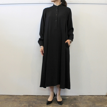 Graphpaper(グラフペーパー)【20 AW】Satin Band Collor Dress(2色展開)_GL203-60125B【K】