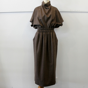 DRIES VAN NOTEN(ドリスヴァンノッテン) DORIA 1041W.W.DRESS_202-18661-1041【K】