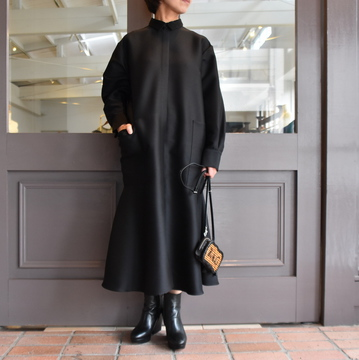 TENNE HANDCRAFTED MODERN(テン ハンドクラフテッドモダン) MERMAID SHIRT DRESS #002DR
