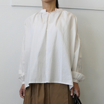 【30% off sale】humoresque(ユーモレスク)【20 AW】gather blouse_IA2204【K】
