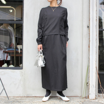 【30% off sale】humoresque(ユーモレスク)【20 AW】drape one piece_IA2101【K】
